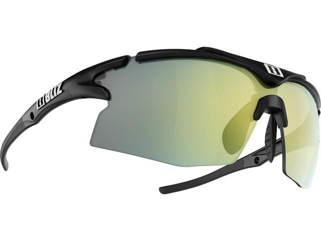 Bliz Tempo M12 Gafas, matt black/brown with gold multi